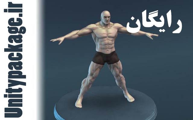 پکیج ۱.۰ (Base Male (Muscular