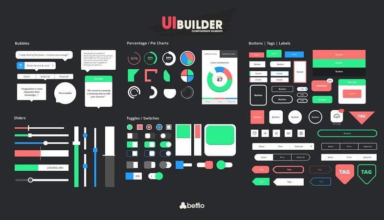 پکیج UI - Builder - تصویر شماره 5