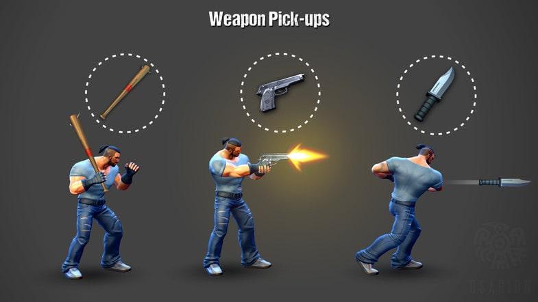 پکیج Beat 'Em Up - Game Template 3D - تصویر شماره 4
