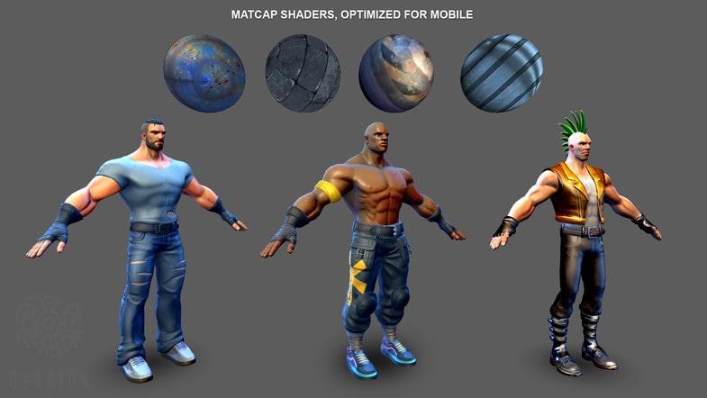 پکیج Beat 'Em Up - Game Template 3D - تصویر شماره 5