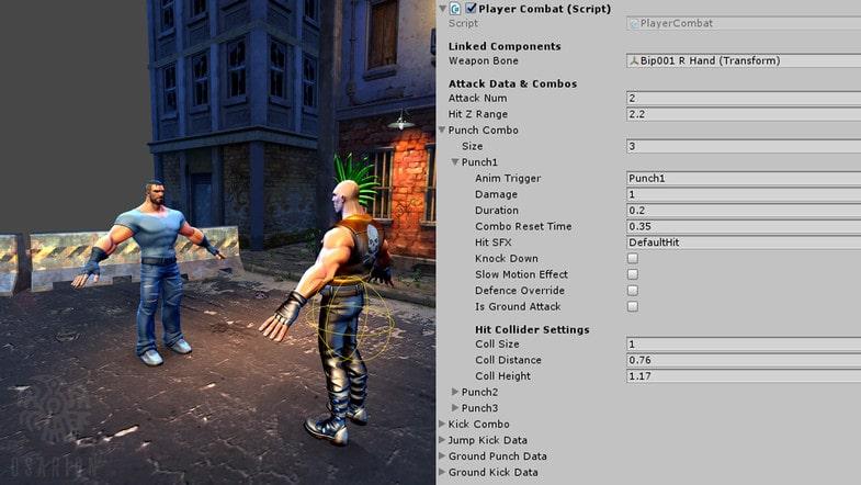 پکیج Beat 'Em Up - Game Template 3D - تصویر شماره 7