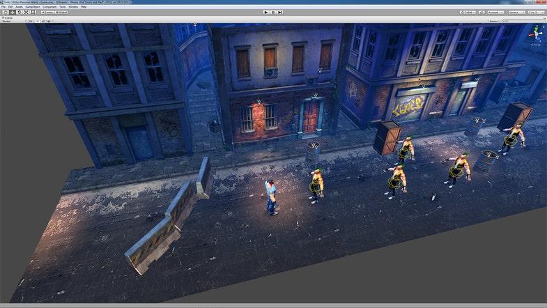 پکیج Beat 'Em Up - Game Template 3D - تصویر شماره 8