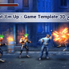 پکیج Beat 'Em Up - Game Template 3D