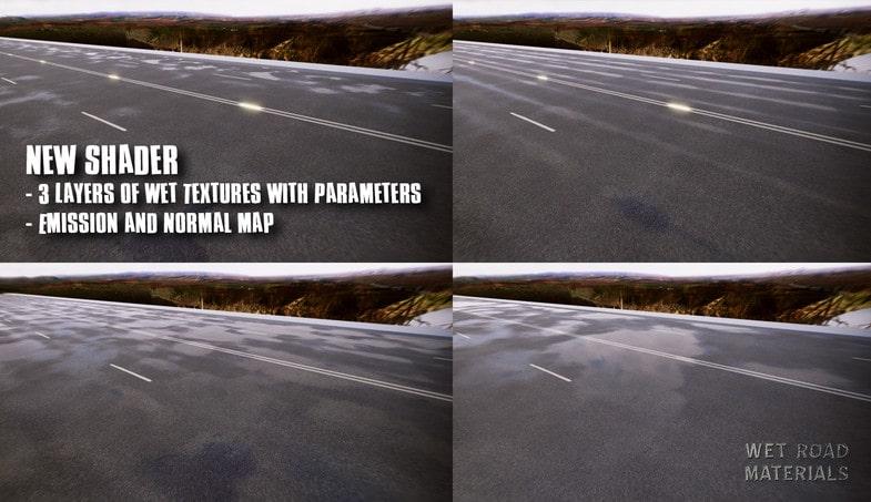 نسخه اورجینال پکیج Wet Road Materials - تصویر شماره 2