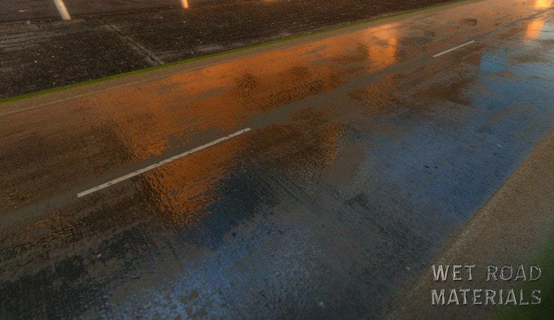 نسخه اورجینال پکیج Wet Road Materials - تصویر شماره 7