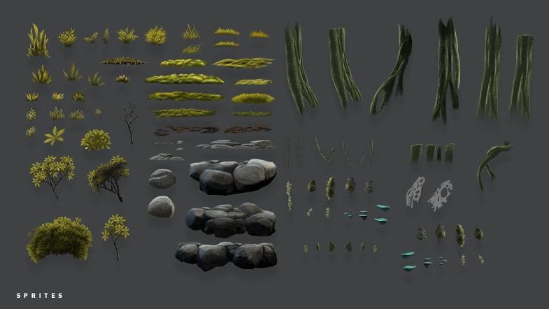 پکیج 2D Forest Pack