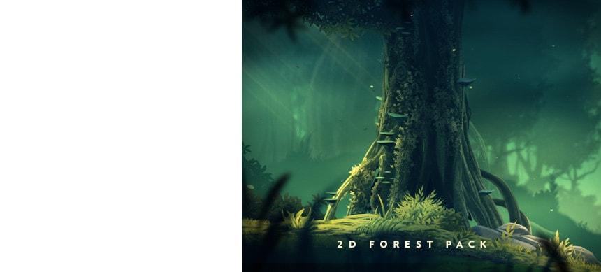 پکیج ۲D Forest Pack
