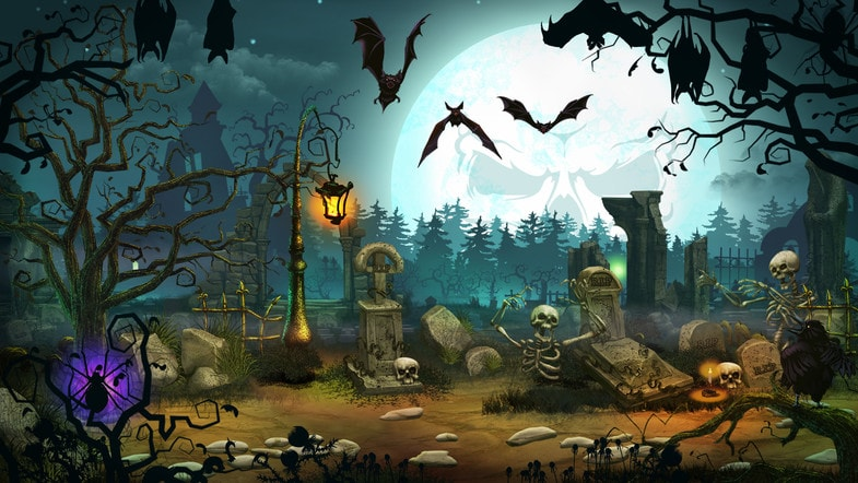 پکیج 2D Graveyard Pack - Handcrafted Art