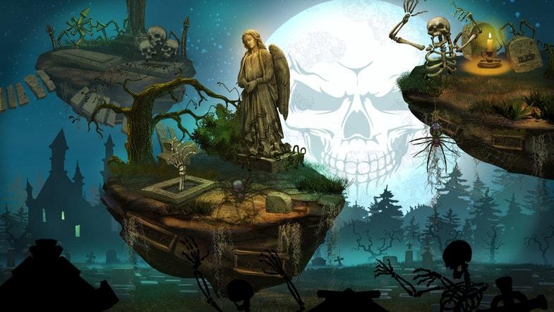 پکیج 2D Graveyard Pack - Handcrafted Art