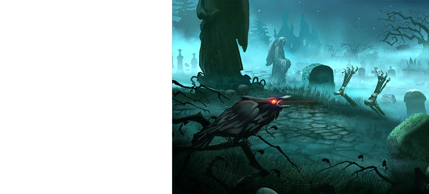 پکیج ۲D Graveyard Pack – Handcrafted Art