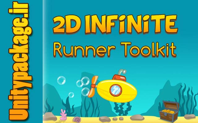پکیج ۲D Infinite Runner Toolkit
