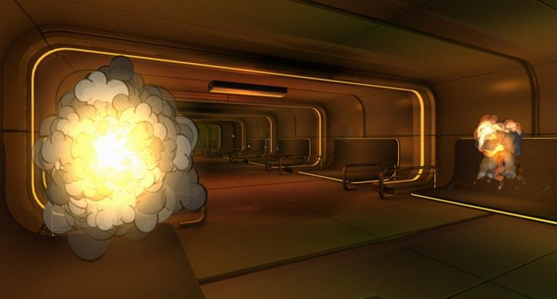 پکیج 3D Cartoon Explosions Pack Vol 1