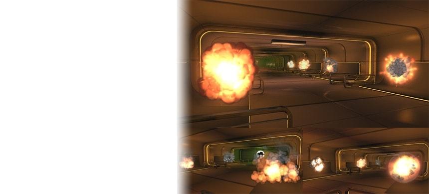 پکیج 3D Cartoon Explosions Pack Vol 2