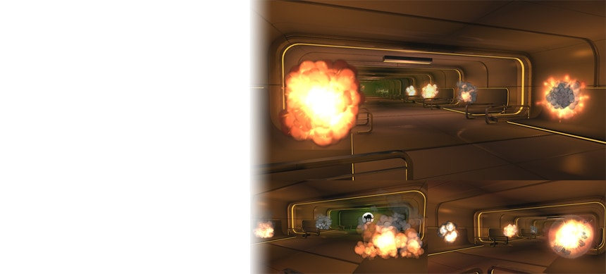 پکیج 3D Cartoon Explosions Pack Vol 2