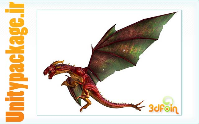 3dFoin Dragon (unitypackage.ir)