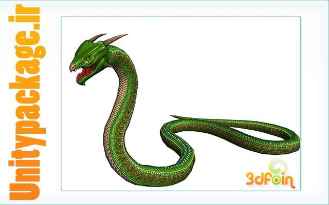 پکیج ۳dFoin Fantasy Snake