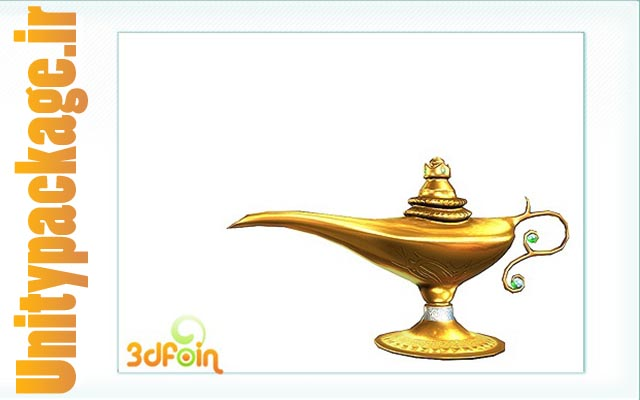 3dFoin Magic Lamp (unitypackage.ir)