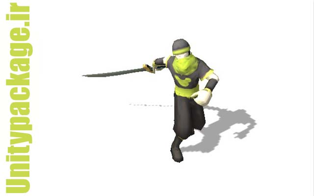 پکیج ۳dsmax Bip Warrior Anim Free 1.1.2