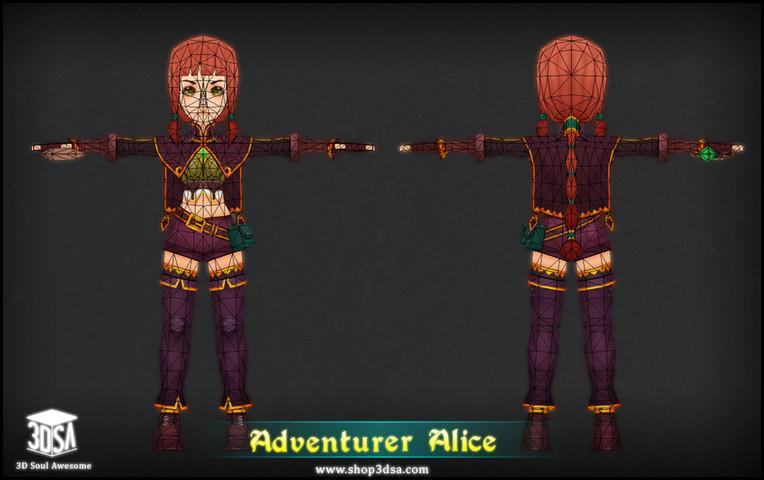 پکیج Adventurer Alice