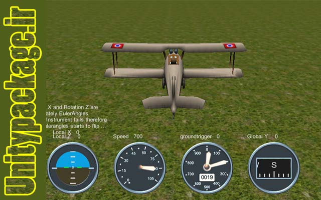 پکیج Aircraft control source games