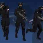 پکیج Animated Police Man