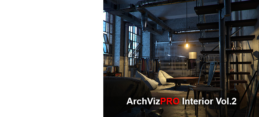 پکیج ArchVizPRO Interior Vol.2