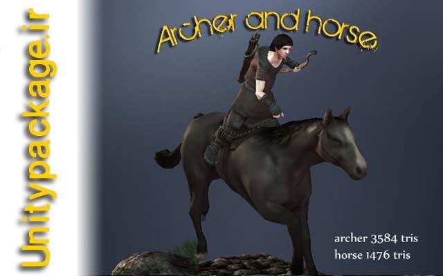 پکیج Archer With Horse