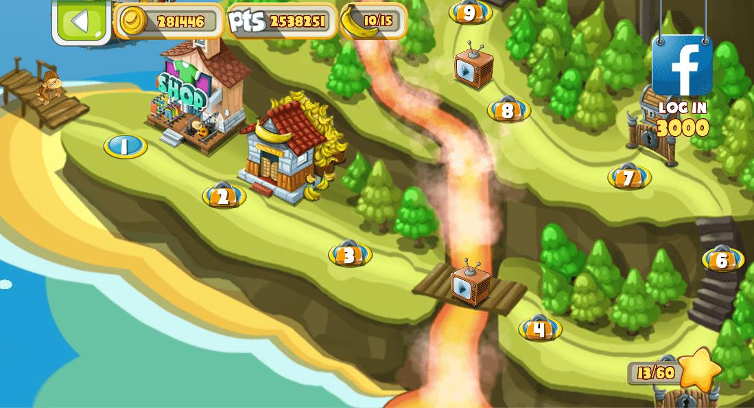 پکیج Banana Island–Bobo's Epic Tale