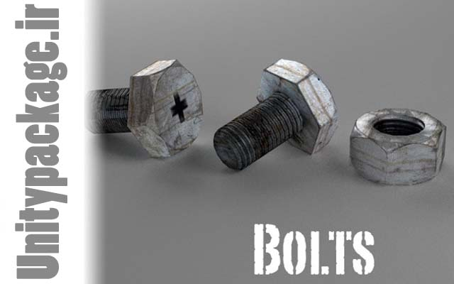 Bolt and Nut (unitypackage.ir)