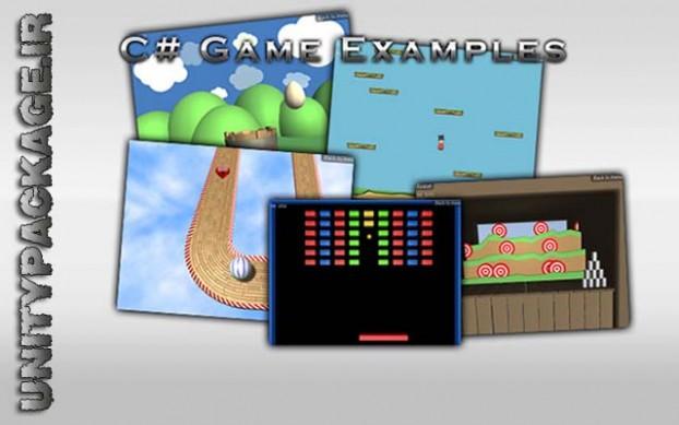 C# Game Examples (unitypackage.ir)