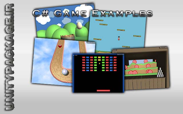 C# Game Examples (unitypackage.ir)