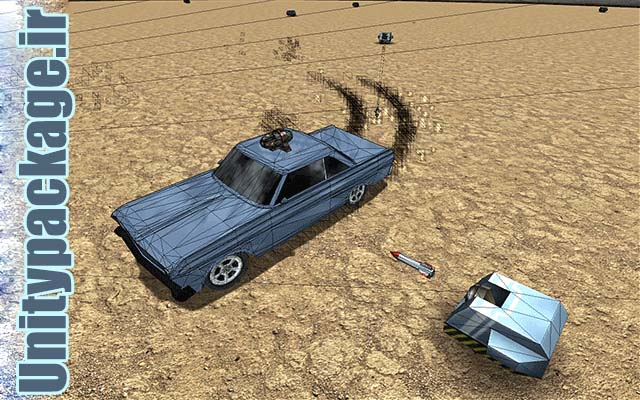 Car Destroyer (unitypackage.ir)