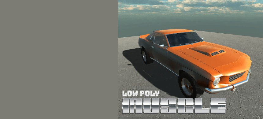 پکیج Cars Free – Muscle Car Pack