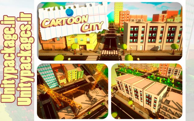 Cartoon City Pack 1.4 (unitypackage.ir)