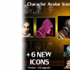 پکیج Character Avatar Icons