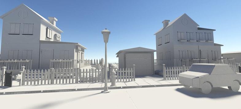 پکیج Country House Pack (Middle Level Models)