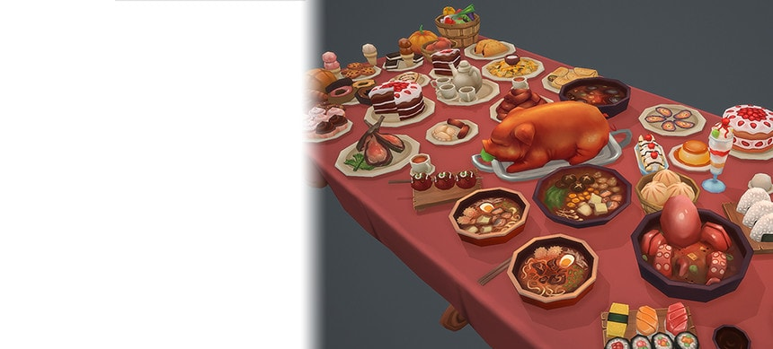پکیج Delicious Food 02