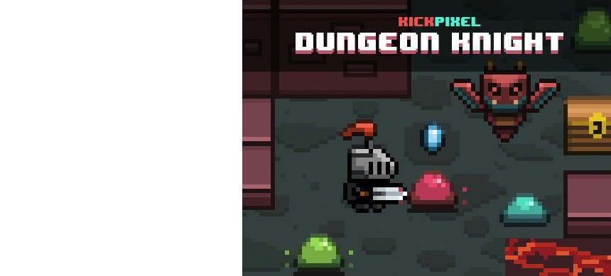 پکیج Dungeon Knight Art+Animation Pack