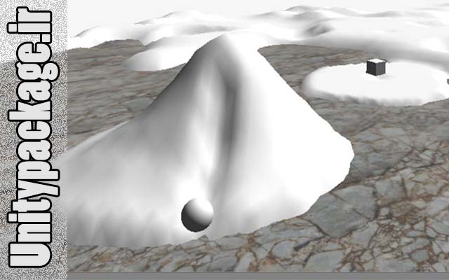 پکیج Dynamic Snow Terrain