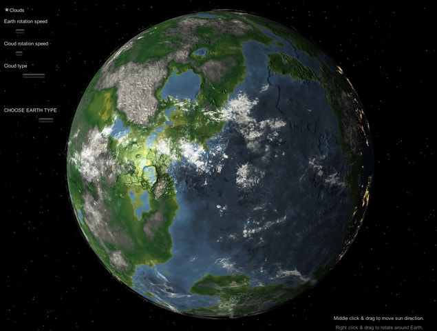 پکیج Earth like Planets