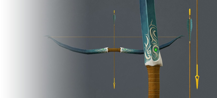 پکیج Elven Long Bow