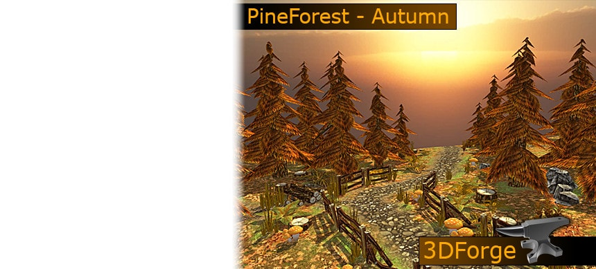 پکیج FKM – PineForest – Autumn