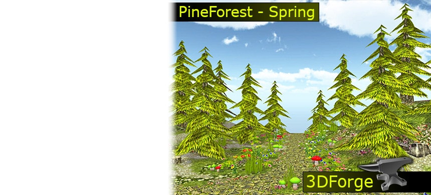 پکیج FKM - PineForest - Spring