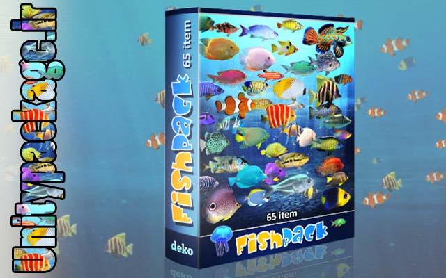 Fish Pack 1.6 (unitypackage.ir)