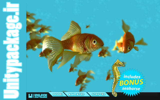Fish School Goldfish 1.32 (unitypackage.ir)