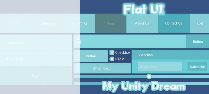 پکیج Flat UI