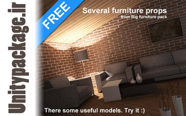 Free Furniture Props 1.0 (unitypackage.ir)