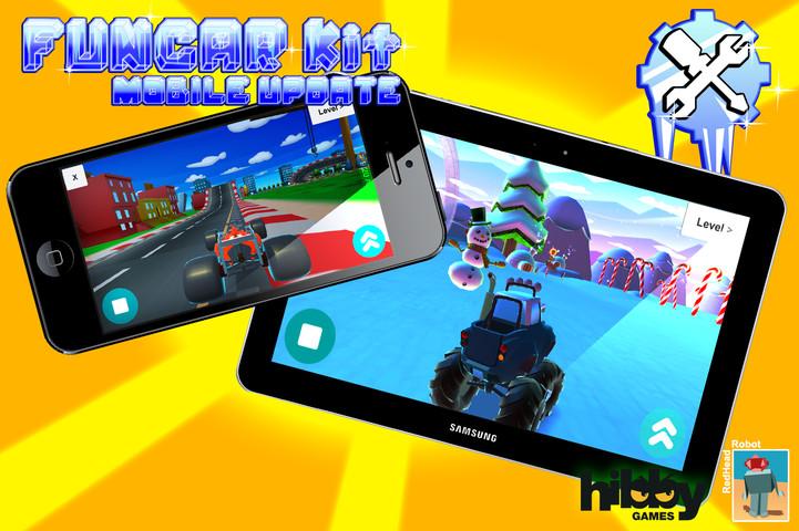 پکیج FunCar Kit V2.0 - Mobile Update