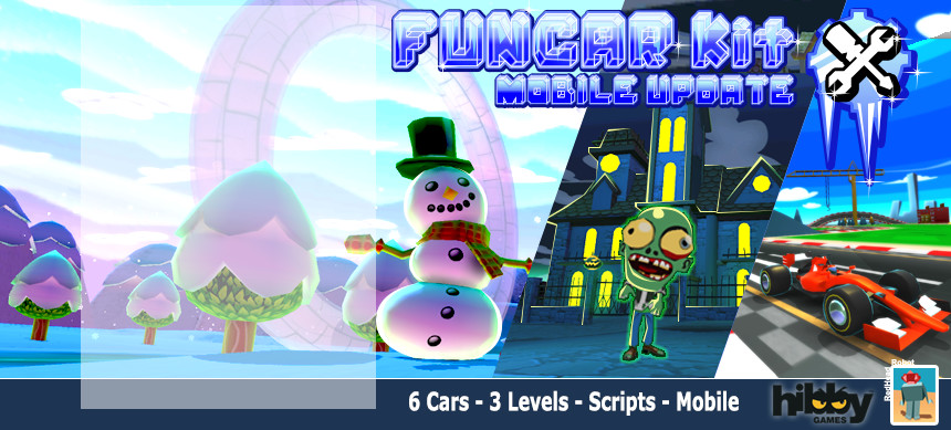 پکیج FunCar Kit V2.0 – Mobile Update