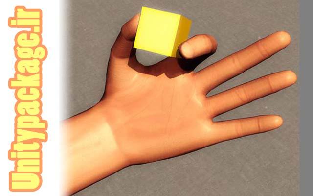 پکیج Hand Physics Controller